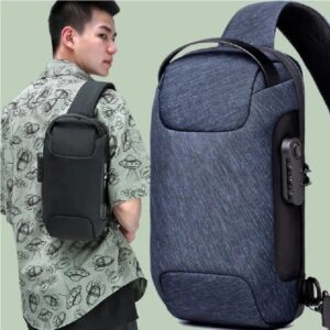 Тренд Водонепроницаемая сумка через плечо. Нагрудная сумка Мини рюкзак